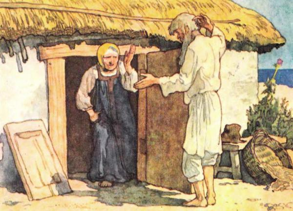 Сказка о рыбаке и рыбке - Пушкин А.С. Читайте онлайн.