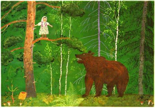 Снегурушка и лиса - русская народная сказка. Читать онлайн.