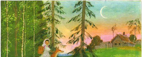 Снегурушка и лиса — русская народная сказка. Читать онлайн.