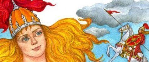 Усоньша-богатырша — русская народная сказка 5 (1)