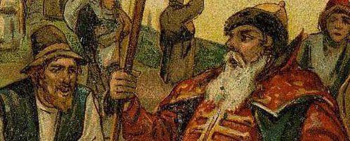 Воевода и мужик — русская народная сказка. Читать онлайн.