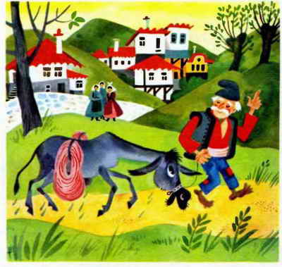 Хитрый ослик - Ангел Каралийчев. Читайте онлайн с картинками.