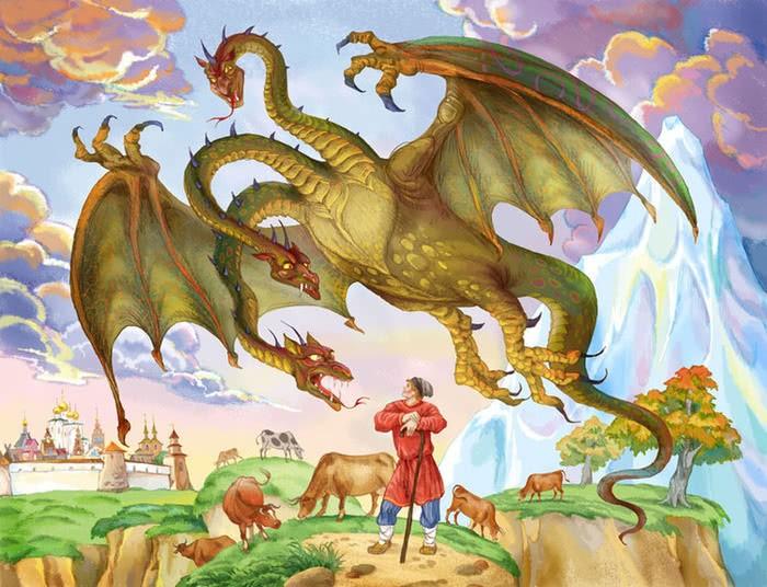 Хрустальная гора - русская народная сказка. Читать онлайн.