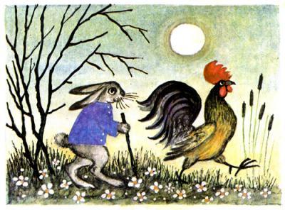 Зайкина избушка - русская народная сказка. Читать онлайн.