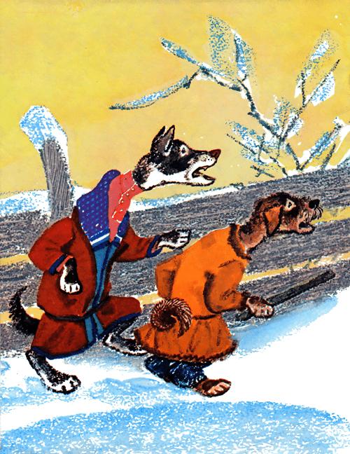 Заяц-хваста - русская народная сказка