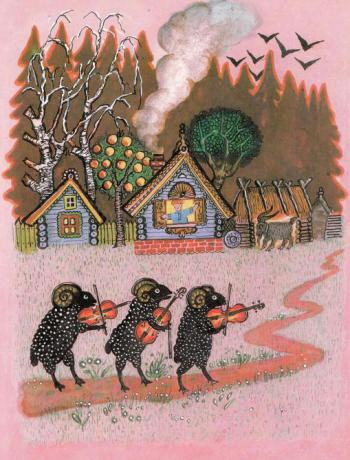 Барашеньки - русская народная песенка