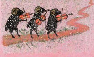 Барашеньки — русская народная песенка. Фольклор для детей.