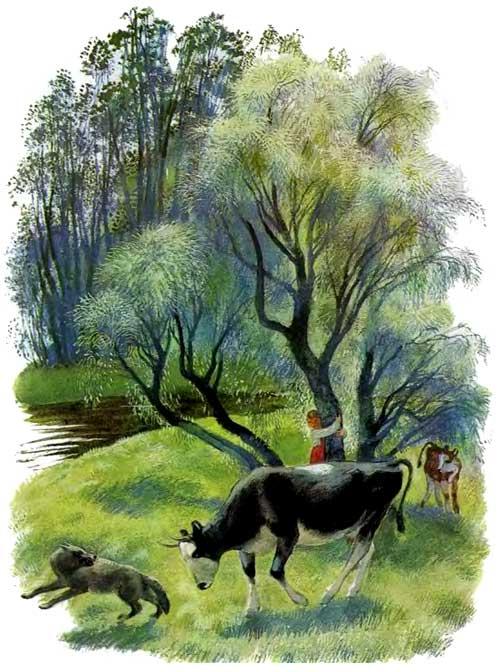 Бодливая корова - Ушинский К.Д.