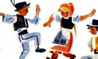 Чешские народные песенки — Самуил Маршак. Читать с картинками.