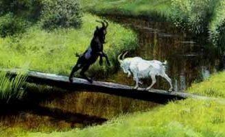 Два козлика — Ушинский К.Д. Читать онлайн с картинками.