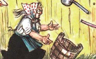 Федорино горе — Чуковский К.И. Читайте онлайн с рисунками Сутеева. 5 (3)