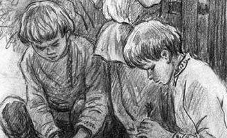 Грядки гвоздики — Ушинский К.Д. Читать онлайн рассказ.