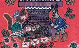 Кисонька — русская народная песенка. Фольклор для детей.
