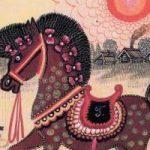 Конь - русская народная песенка. Фольклор для детей.