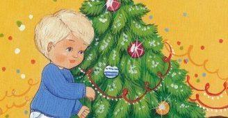 Короткие стихи про зиму и Новый год для малышей 3-4 лет