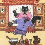 Кошка и курочка - русская народная песенка. Фольклор для детей.