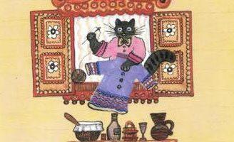 Кошка и курочка — русская народная песенка. Фольклор для детей.