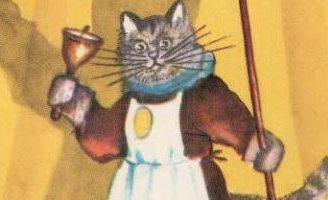 Кошкин дом — Самуил Маршак. Читать с иллюстрациями Васнецова.