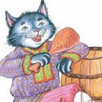 Кот и Повар - басня Крылова. Текст, описание и мораль басни.