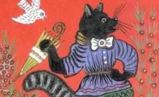 Котик — русская народная песенка. Фольклор для детей.