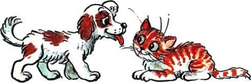 Котёнок по имени Гав Остер