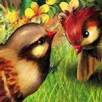 Красная горка - Бианки В.В. Сказка про воробьёв, которые искали себе место для гнезда.
