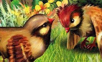 Красная горка — Бианки В.В. Сказка про воробьёв, которые искали себе место для гнезда.