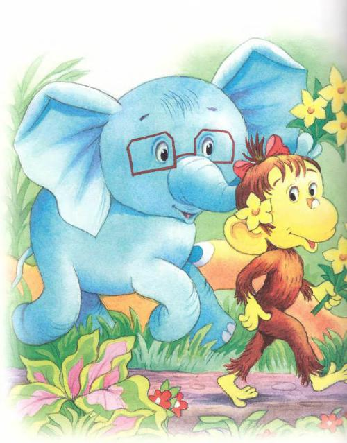 Куда идёт слонёнок - рассказ Григория Остера