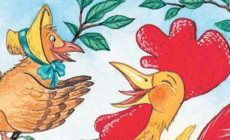 Кукушка и Петух — басня Крылова. Текст, содержание и мораль басни.