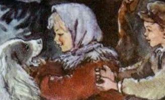 Латка — Бианки В.В. Рассказ про девочку Таню и ее верную собачку Латку.