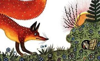 Лис и Мышонок — Бианки В.В. Сказка про то, как Мышонок от Лисы прятался.