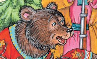 Медведь в сетях — басня Крылова. Текст, содержание и мораль басни.
