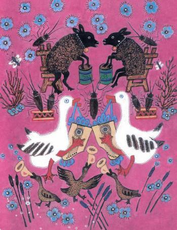 Музыканты - русская народная песенка