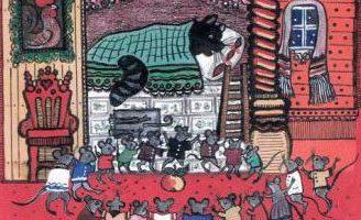 Мыши — русская народная песенка. Фольклор для детей.