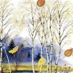Осень - Ушинский К.Д. Читать рассказ об осени онлайн.