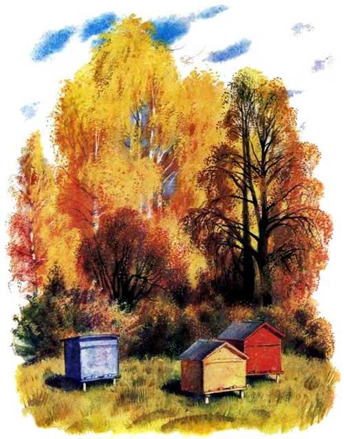 Пчелы и мухи - Ушинский К.Д.
