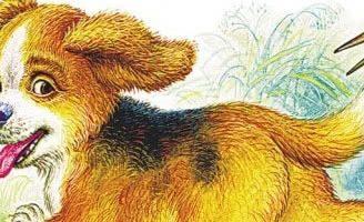 Первая охота — Бианки В.В. Сказка про щенка, отправившегося на свою первую охоту. 5 (2)