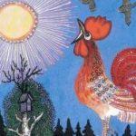 Петушок - русская народная песенка. Фольклор для детей.