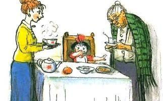 Про девочку, которая плохо кушала — Сергей Михалков. Читать онлайн.