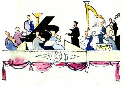 оркестр в цирке
