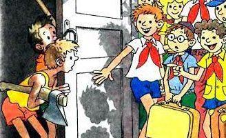 Рассказ Тук-тук-тук — Носов Н.Н. Рассказы для детей.