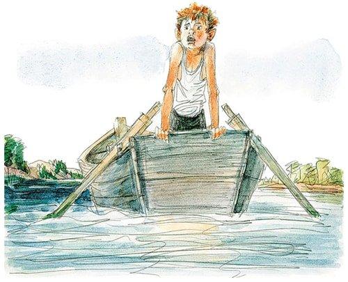 Самое главное мальчик в лодке