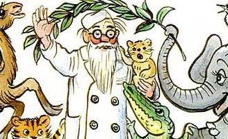 Сказка Айболит – Чуковский К.И. Читайте онлайн с рисунками Сутеева