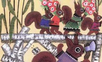 Скок-поскок — русская народная песенка. Фольклор для детей.