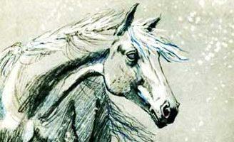 Слепая лошадь — Ушинский К.Д. Читать онлайн с картинками.