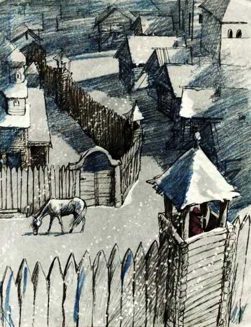 Слепая лошадь - Ушинский К.Д.