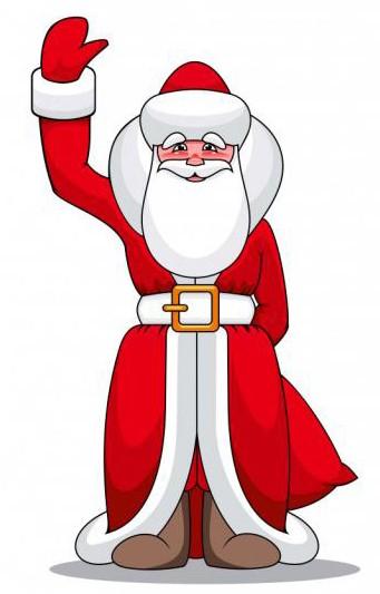 Стихи про Деда Мороза для детей 5,6,7 лет