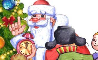 Стихи про Новый год для детей 5,6,7 лет. Стихи для заучивания.