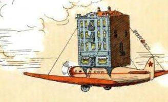 Стихотворение Дом переехал — А.Барто. Читайте онлайн с картинками