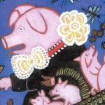 Свинушка - русская народная песенка. Фольклор для детей.